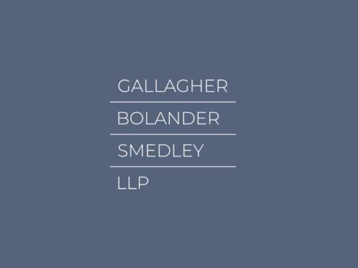 Gallagher | Bolander | Smedley | LLP  ..  Attorneys at Law